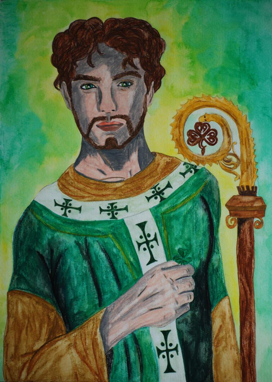 Saint Patrick by RowanLewgalon