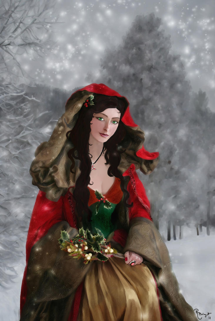 The Spirit of Yule by RowanLewgalon