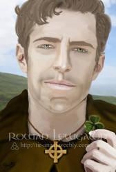 Saint Patrick of Ireland by RowanLewgalon