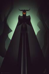 Demon overseer by TalviEnkeli