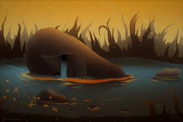 Lake of tears by TalviEnkeli