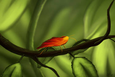 Leaf camouflage by TalviEnkeli