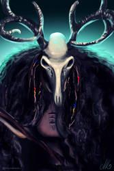 Diana the huntress by TalviEnkeli