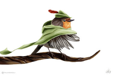 Robin Hood by TalviEnkeli