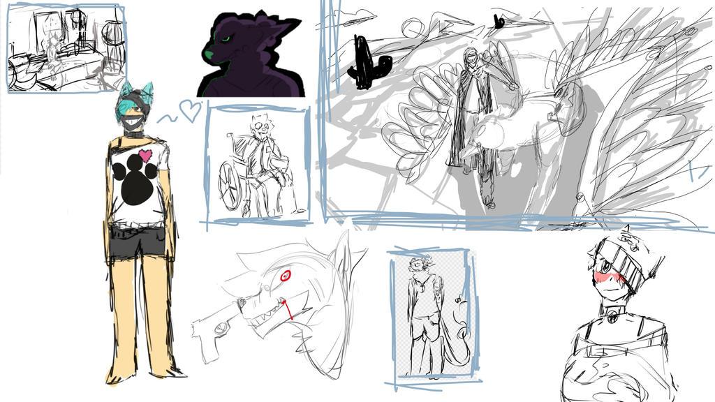 Sketch dump by DerpyPandaGamer
