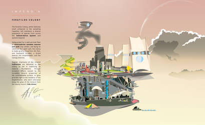 Impendia Comic - Feratilos Colony by EvinAR