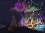 ZOOTOPIA - Nick x Judy Fireworks