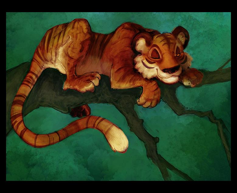 tiger by glittervolt