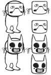 Base ~ Zacharie's masks