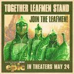 together leafmen stand