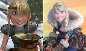 Astrid Hofferson in How to Train Your Dragon 'n 2
