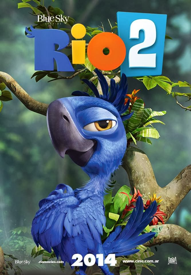 Rio 2 Poster ft Tiago ...