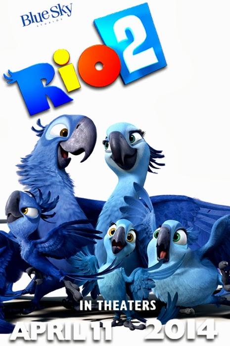 Rio 2 movie 2014 poster by melysky on deviantart rio 2 movie 2014 poster by melysky voltagebd Images