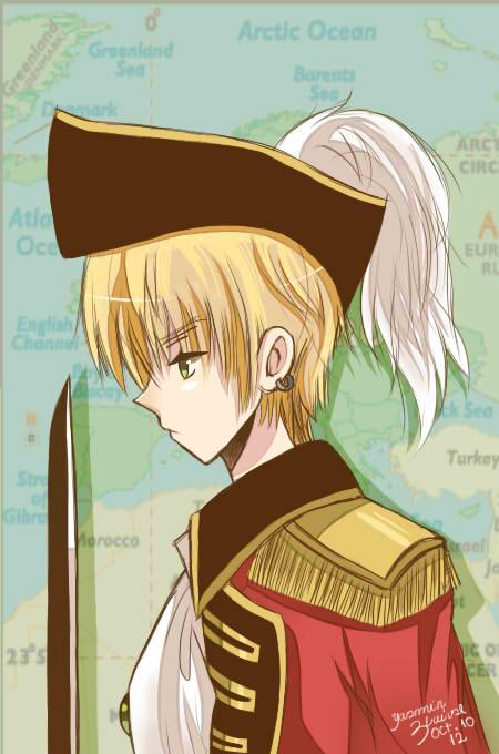 Pirate!England by IchigoMimin