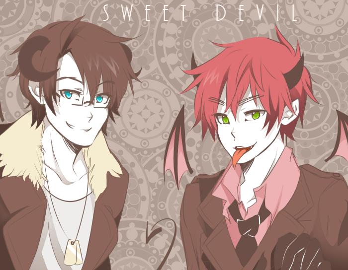 Sweet Devil USUK by IchigoMimin