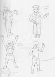 Characters Redrawn