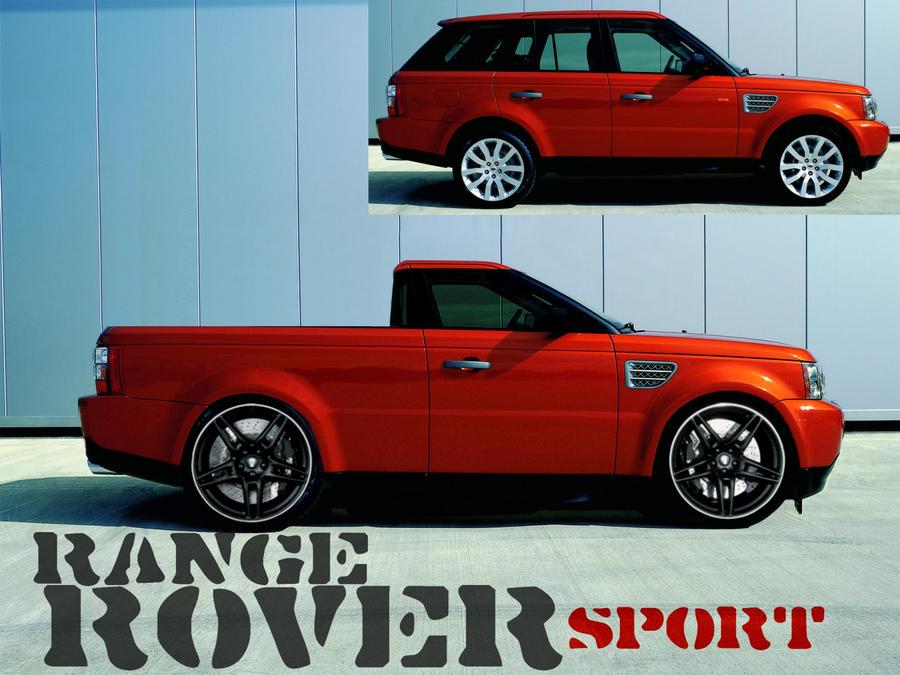 range rover sport pickup by mortarz on deviantart. Black Bedroom Furniture Sets. Home Design Ideas
