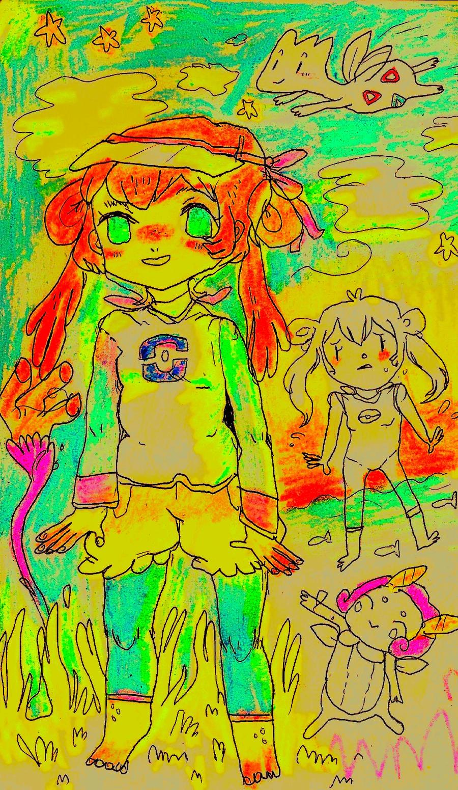 newgirl by Mebuu