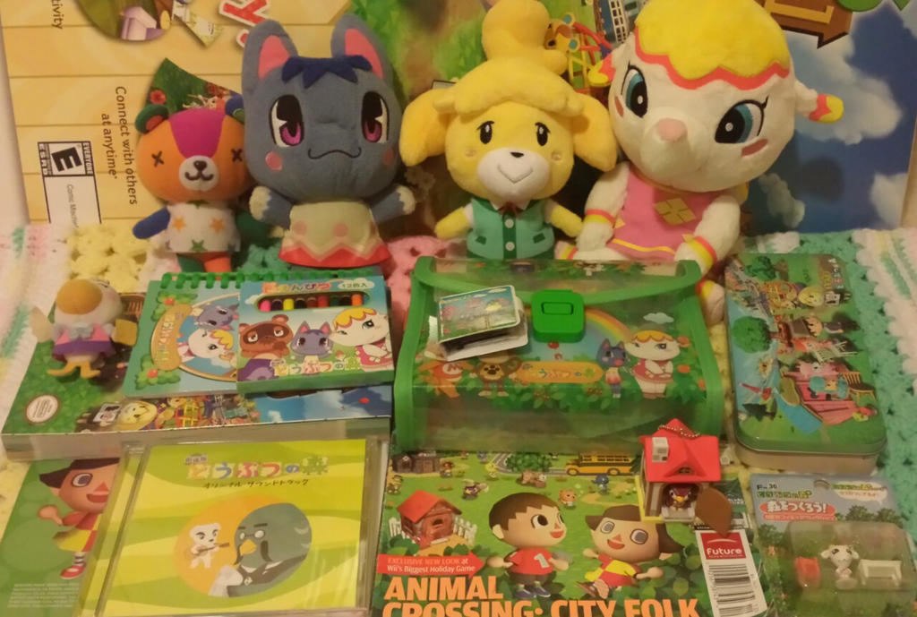 animal crossing collection by Mebuu