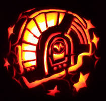 guy pumpkin by Mebuu