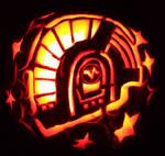 guy pumpkin
