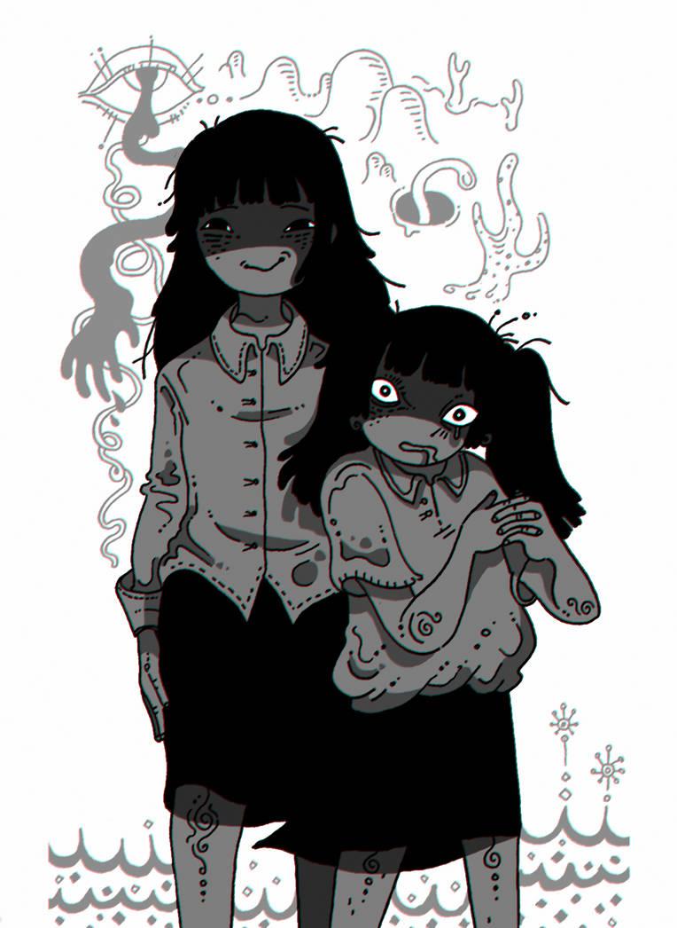 Monochrome Sisters