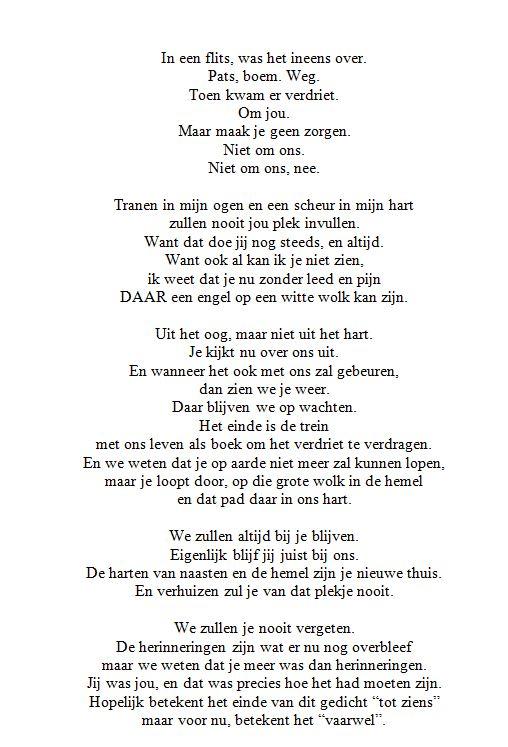 Dutch poem by xGothCinderella