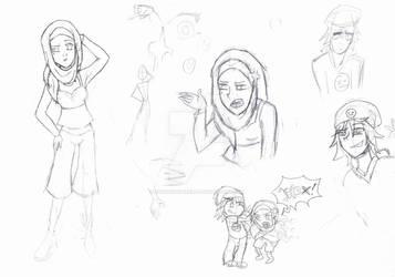 Nameless Siblings [Sketchdump]
