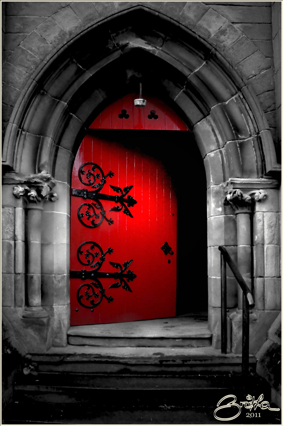 The Red Door By Brijome On Deviantart