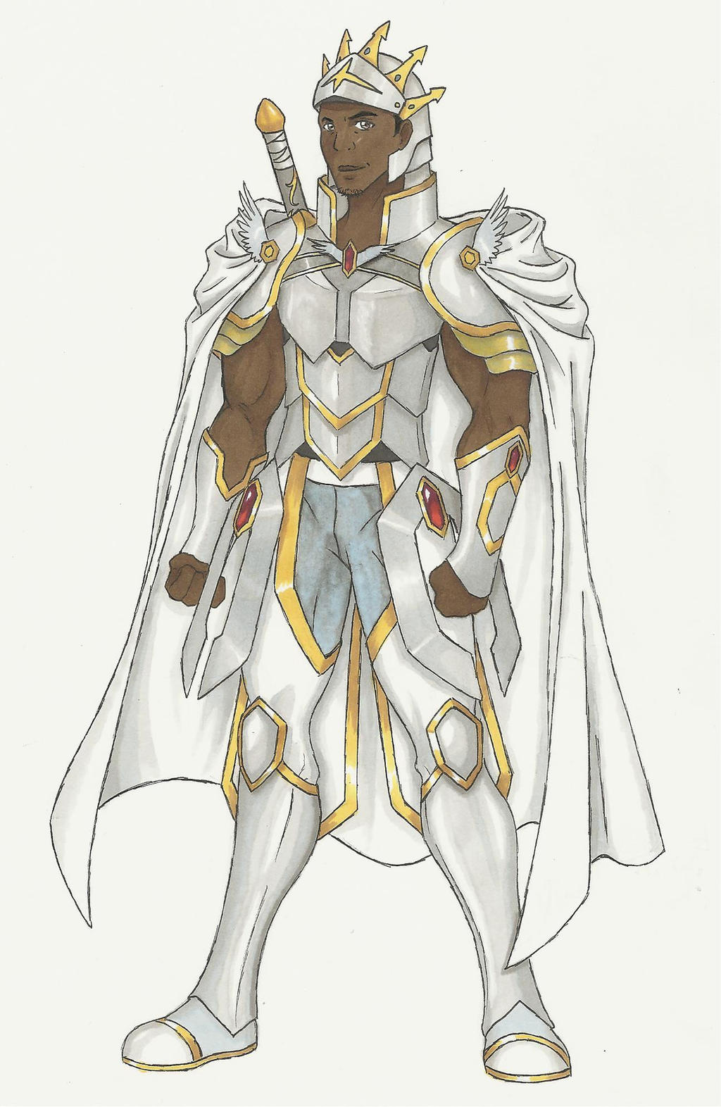 Sword Art Online Armor Concept. Pose Number One. by TeamSLVR on ...