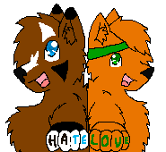 Hate and Love by InkSheWolf