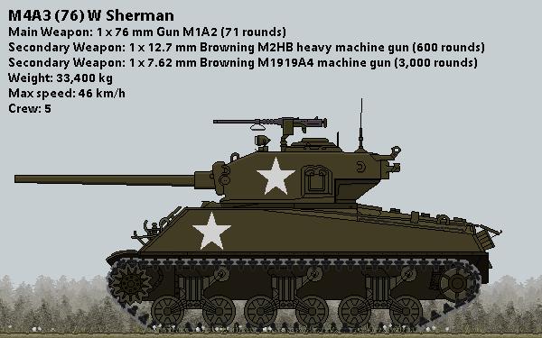 M4A3 (76) W VVSS Sherman by Grevinsky79 on DeviantArt
