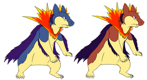 MegaTyphlosion Contest Entry
