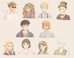 Peculiar Children by Marshmeellow