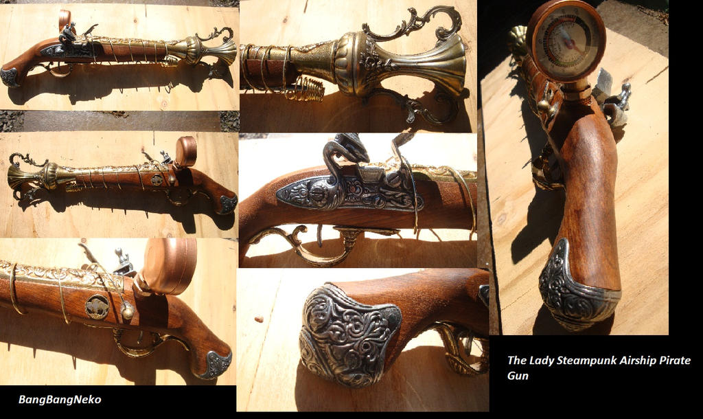 The Lady Steampunk Gun by BangBangNeko