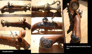 The Lady Steampunk Gun