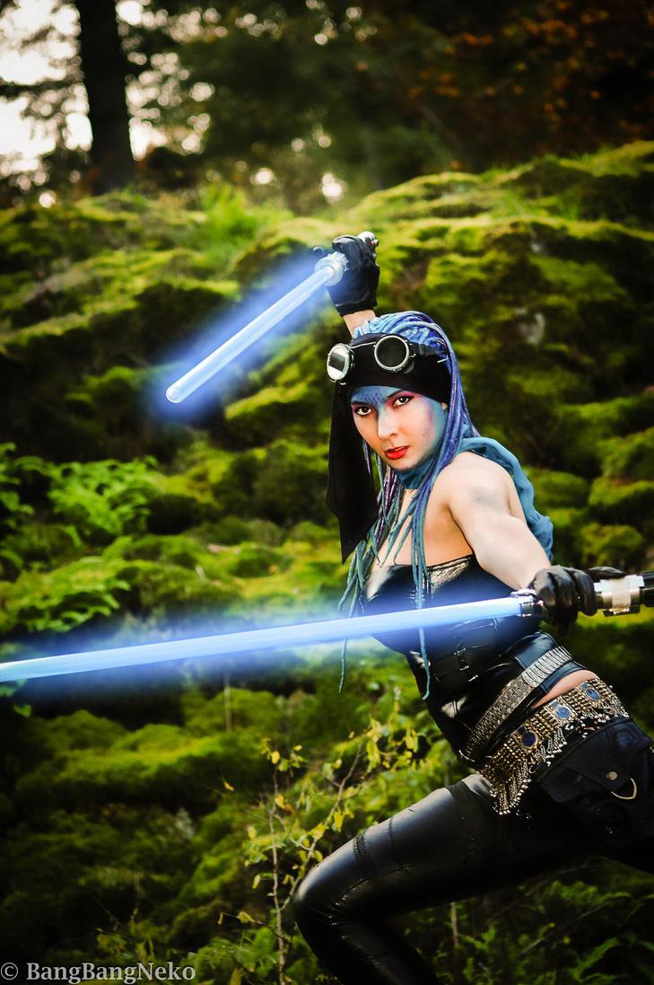 Star wars themed photoshoot 1 by BangBangNeko