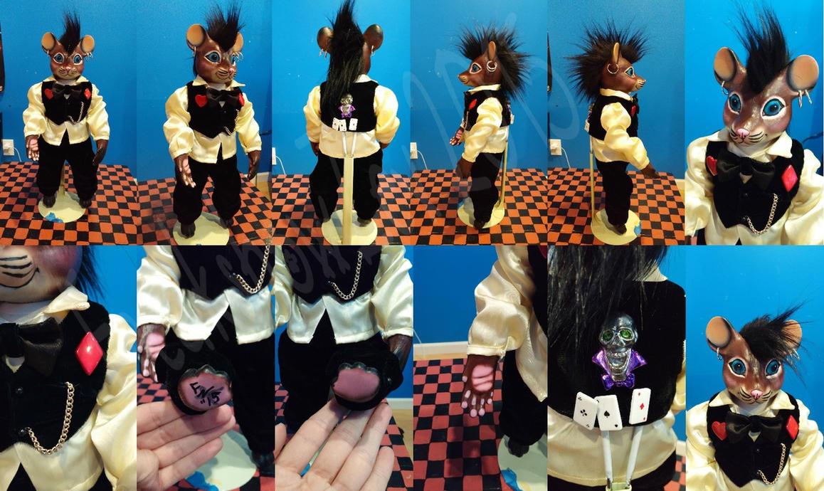 Punk style Rat Doll by BangBangNeko