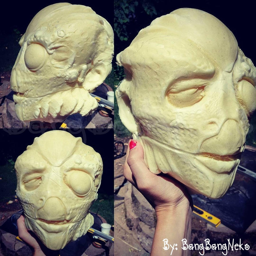 Alien head prop WIP by BangBangNeko