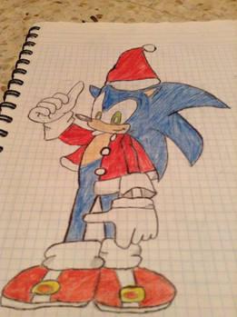 Christmas Sonic