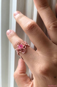 [For Sale] Intrigue - Adjustable Wire-Wrapped Ring