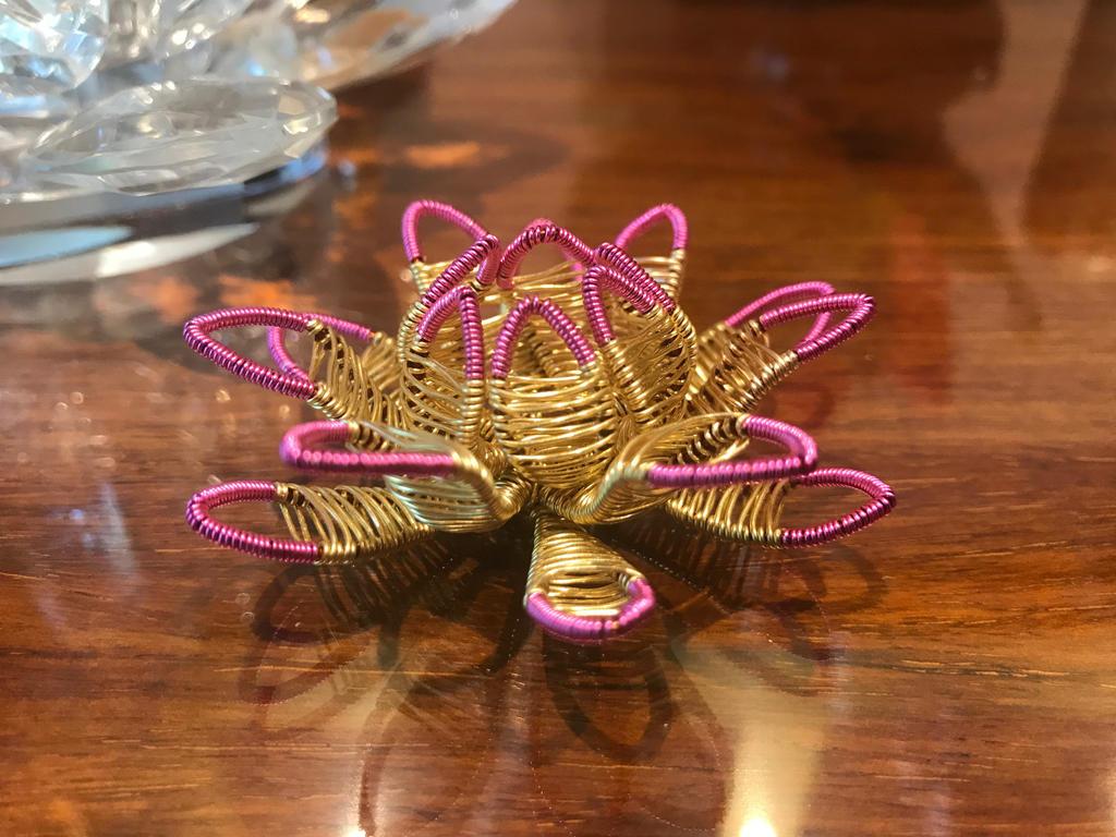 Golden Lotus by craftsbyblue