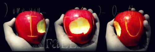 IOU apple by ocean-crystal