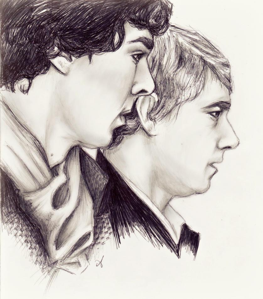 Sherlock and John by ocean-crystal