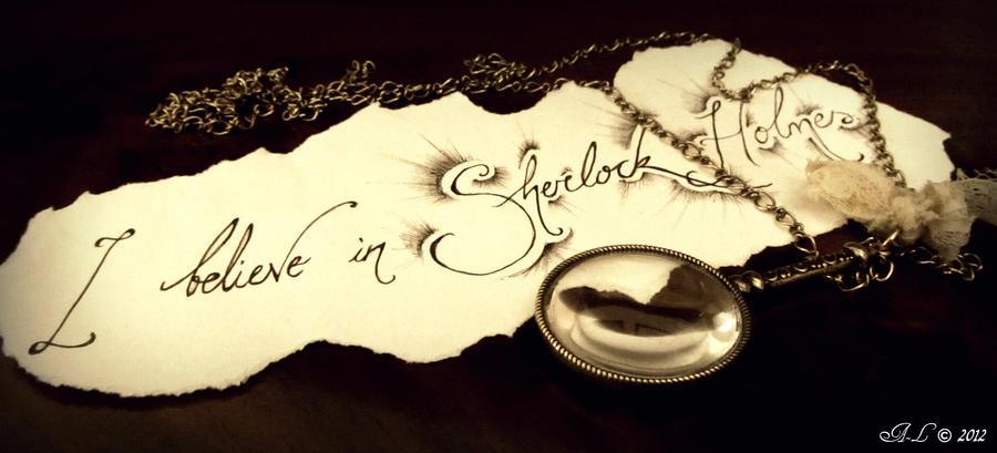 Sherlock Holmes Quotes Wallpaper I believe in sherlock holmes