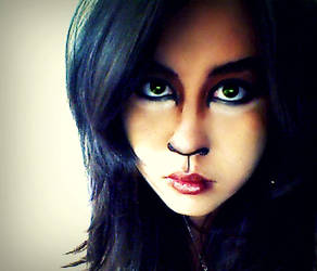 Scar make-up (The Lion King) by ocean-crystal