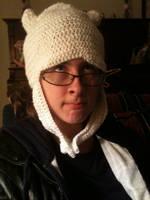 Crocheted Finn Hat by TheOriginalTah