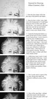 Albert Einstein Hair Tutorial