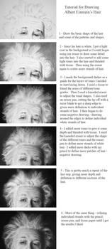 Albert Einstein Hair Tutorial