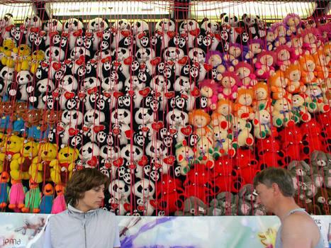 Sadness at the fair
